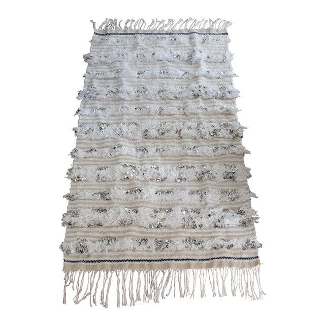 Moroccan Wedding Blanket - Image 1 of 7