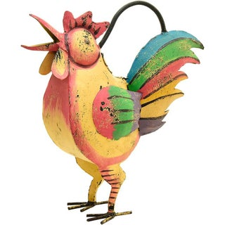 Hen Iron Watering Can