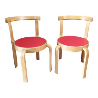 Magnus Olesen Stacking Children's Chairs - A Pair
