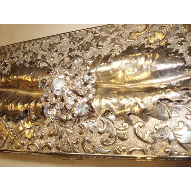 Vintage Rhinestone Embellished Jewelry box - Image 5 of 5