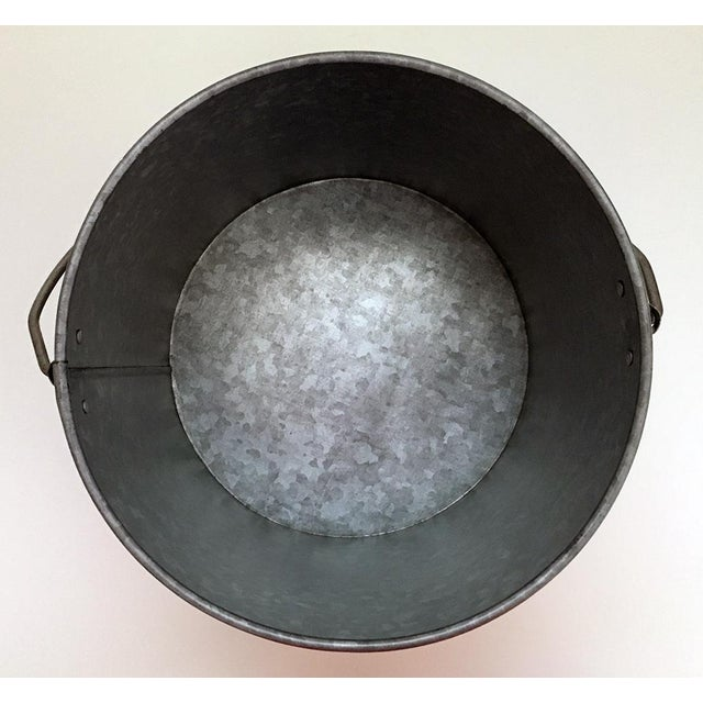 "Galvanized Metal ""Bubbly Bucket"" - Image 5 of 6"