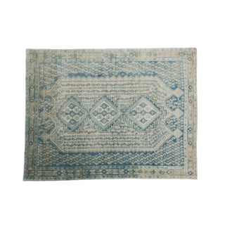"""Vintage Afshar Carpet - 5'1"""" X 6'8"""""""