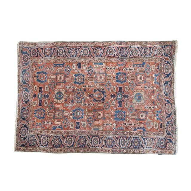 Vintage Heriz Carpet- 7′4″ × 10′1″ - Image 1 of 10