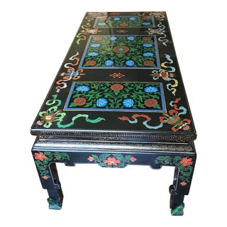 Chinese Cloisonné Coffee Table