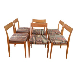Troeds Bjarnum Swedish Modern Teak Dining Chairs - Set of 6