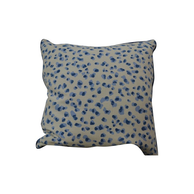 Blue & White Summer Pillows - A Pair - Image 1 of 5