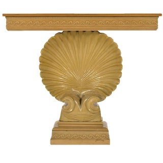 Edward Wormley Shell Console Table by Dunbar