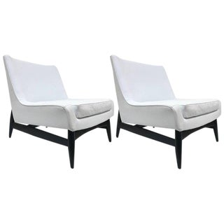 Pair of Paul McCobb Style Lounge Chairs