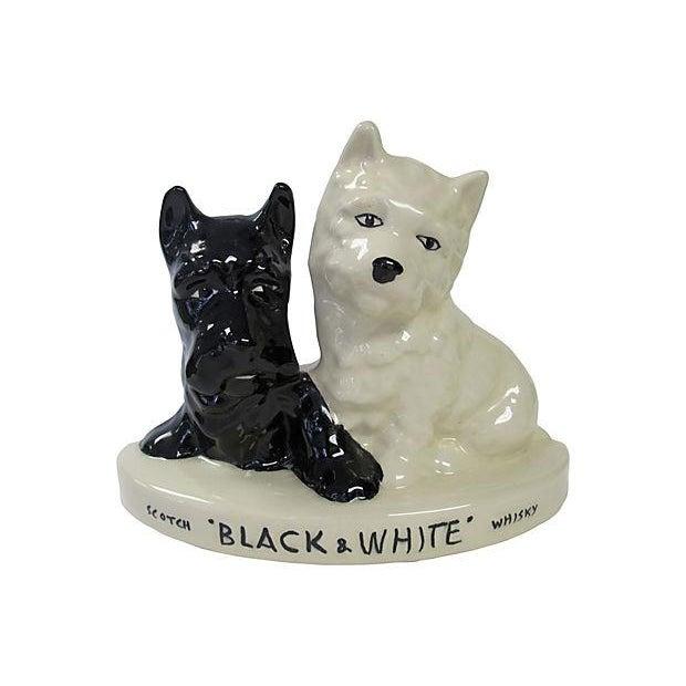 Image of Black & White Scotch Store Display