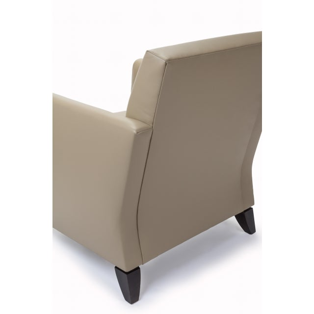 Princeton Leather Reading Chair - Image 5 of 5