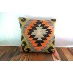 Image of Vintage Rug Fragment Pillow