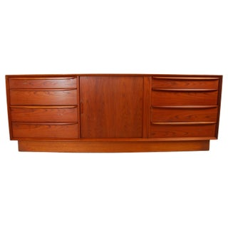 Falster Danish Teak Low Dresser or Credenza