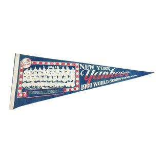 1960 New York Yankees World Series Pennant