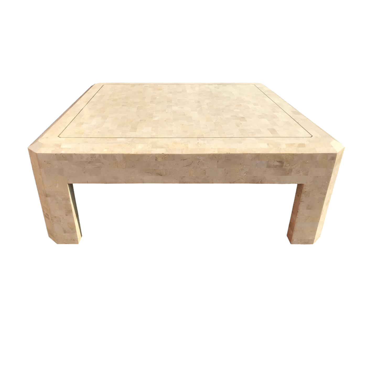 Superior Maitland Smith Tessellated Stone Coffee Table