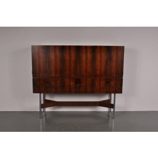 Rosewood High Bar Cabinet by Rudolf Glatzel for Fristho, circa 1960