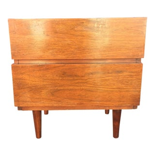 American of Martinsville Mid-Century Two Drawer Nightstand