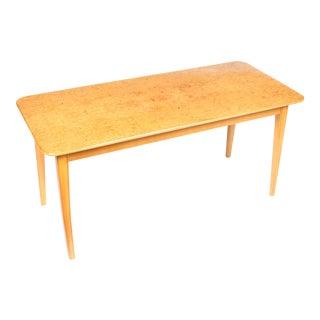 1960s Danish Birch Coffee Table