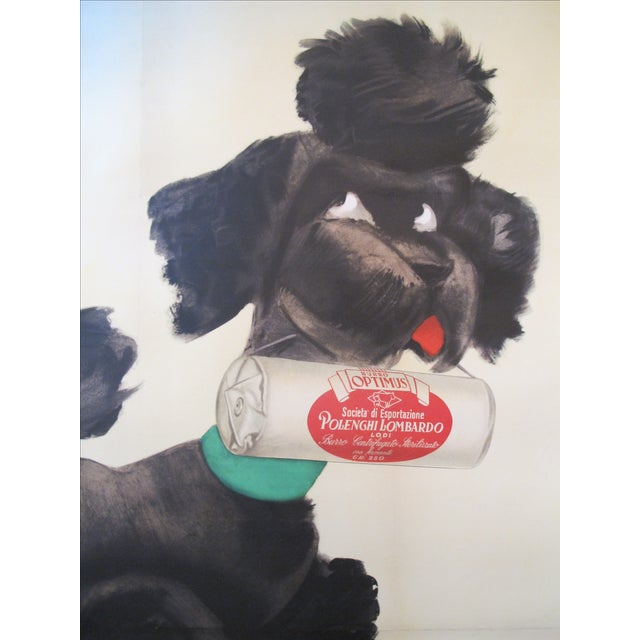 Vintage Italian Poodle Poster - Image 2 of 4