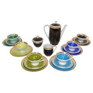 1960 China Porcelain Coffee Service German - 21