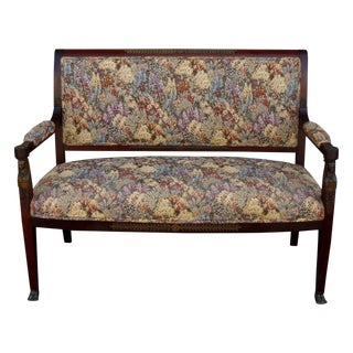 French Empire-Style Settee
