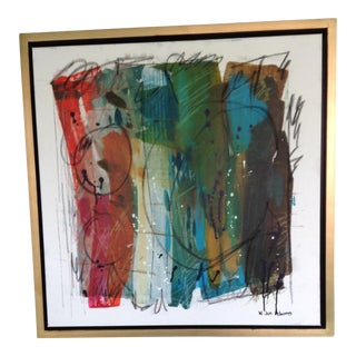 Abstract Mixed Media Print