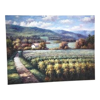 "Modern Italian ""Tuscany"" Painting"