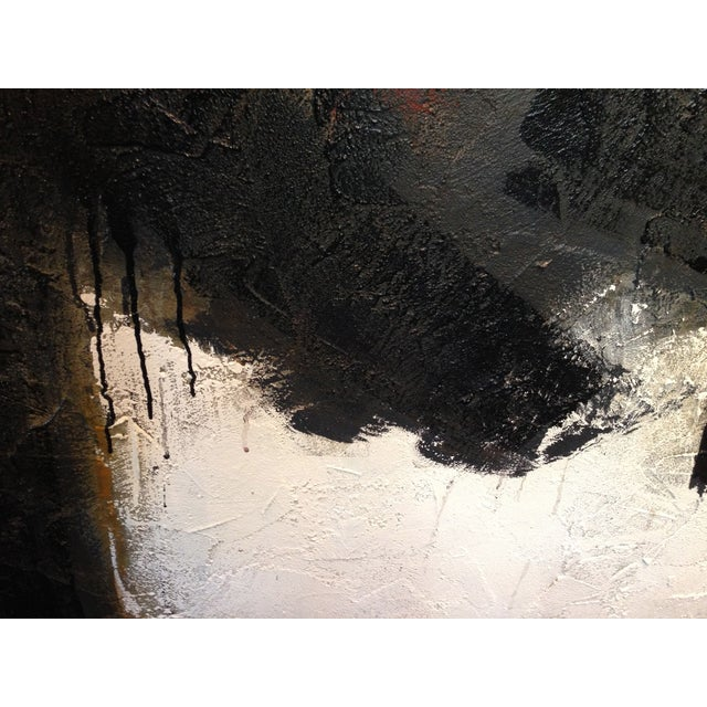 Image of Motherwell Inspired Painting by Myke Reilly