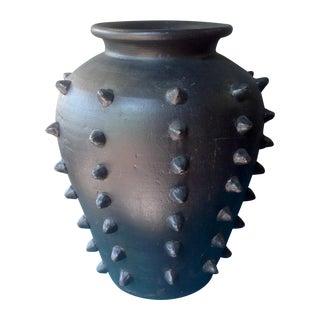 Honduran Hand Forged Hobnail Vase