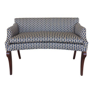 High Quality Hollywood Regency Love Seat Bench