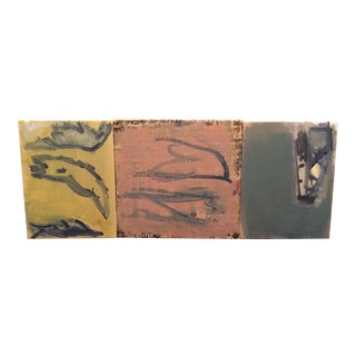 Abstract Decoupage Painting