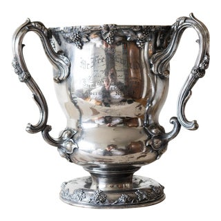 1903 Victorian Silverplate Trophy