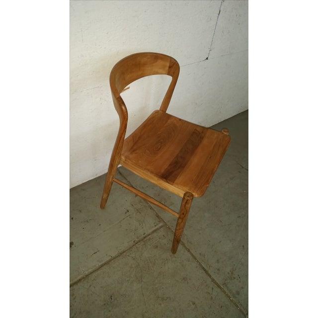 Image of Theodore Mid-Century Modern Teak Side Chair