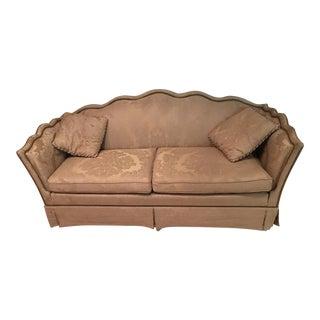 Henredon Sofa in Gold from Dallas Estate