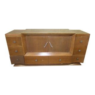 Mid-Century Modern Wood Dresser