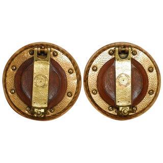 British Royal Navy Brass Ships Portholes - A Pair