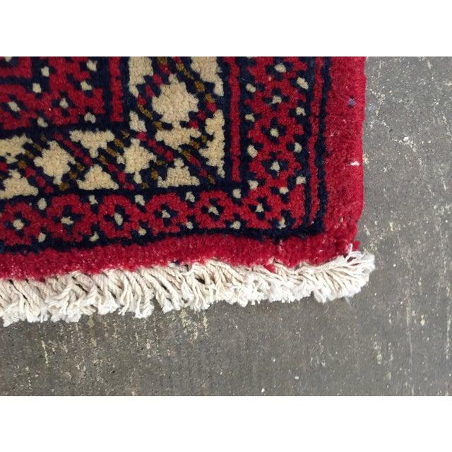 "Turkaman Persian Handmade Rug - 1'8"" x 3'5"" - Image 6 of 9"