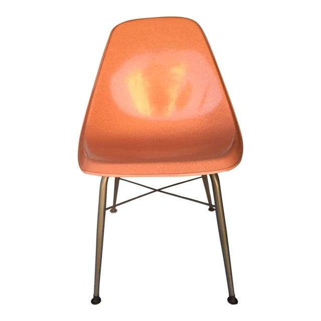 Mid-Century Fiberglass Shell Chair - Image 1 of 4