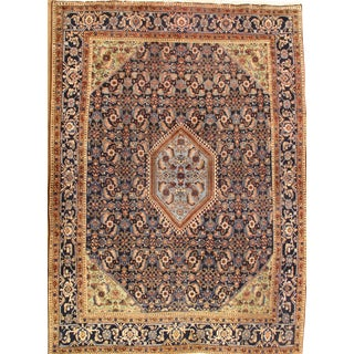 "Pasargad NY Antique Persian Tabriz Herati Design Lamb's Wool Rug - 7'8"" x 10'7"""