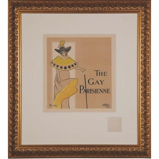 'The Gay Parisienne' French Print