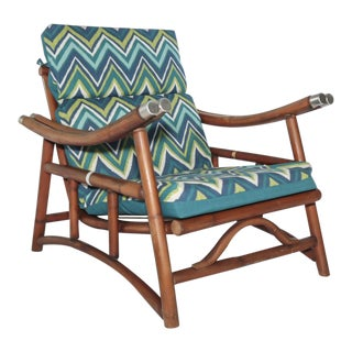 Ficks Reed Far Horizon Campaign Lounge Chair
