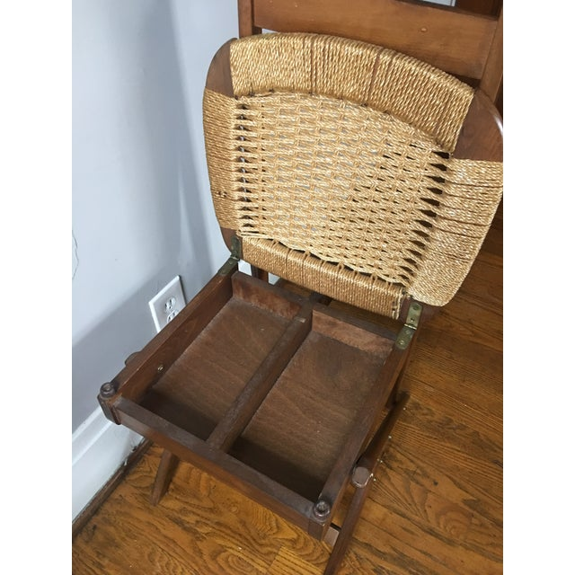 Mid Century Italian Valet Chair - Image 4 of 7