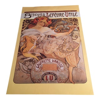 Vintage French Biscuit Advertising Print