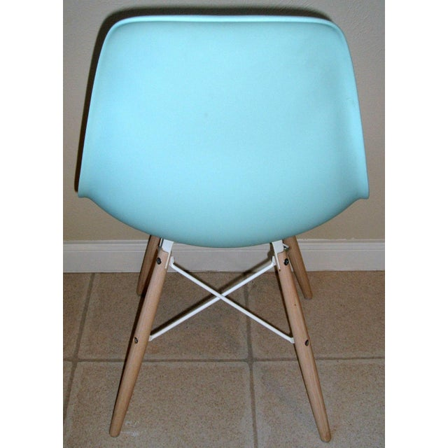 eames molded plastic chair set of 2 chairish
