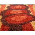 Image of Danish Rya Shag Rug- 5′2″ × 7′