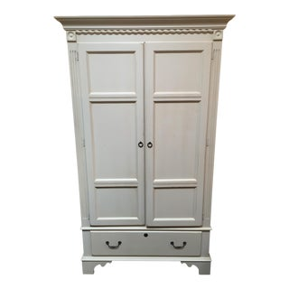 Ethan Allen Ivory Armoire