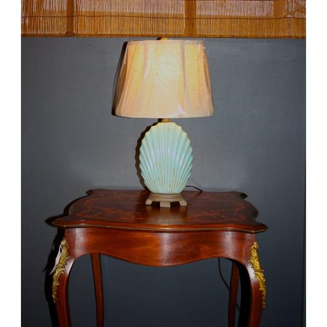 Scallop Seashell Lamp - Image 3 of 7