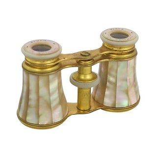 French Opera Glasses With Case