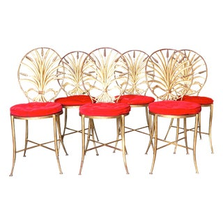 S. Salvadori 'Sheaf of Wheat' Chairs - Set of 6