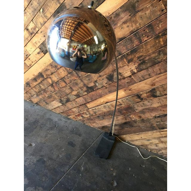 Vintage Arc Chrome Floor Lamp - Image 4 of 4