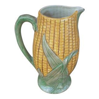 "Shorter & Son ""Corn Cob"" Pitcher"